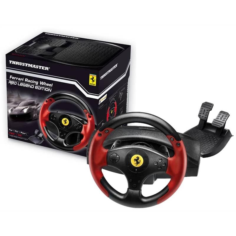 thrustmaster ferrari red legend edition pc ps3 sim racing tech. Black Bedroom Furniture Sets. Home Design Ideas